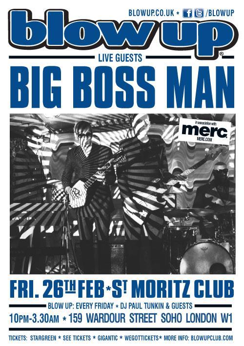 Big Boss Man back at Blow Up this Feb!