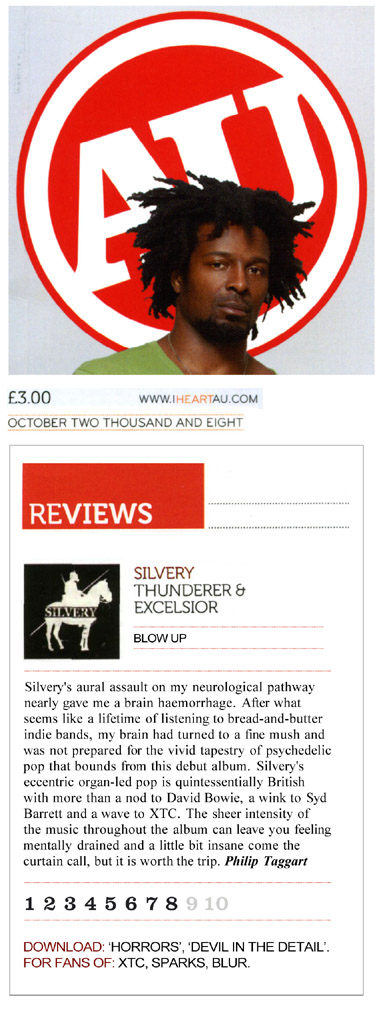 Alternative Ulster Thunderer & Excelsior Album Review Silvery