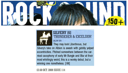 Rock Sound Album Review Thunderer & Excelsior