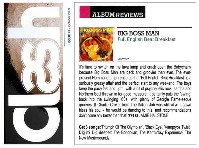 Clash Review Big Boss Man Full English Beat Breakfast