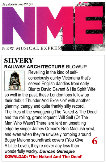 NME Railway Architecture Album Review Silvery