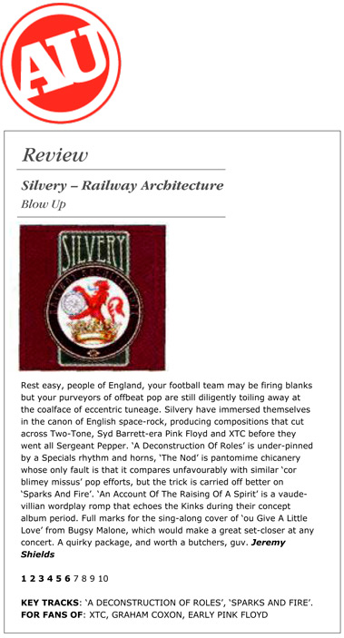 Alternative Ulster Railway Architecture Album Review Silvery