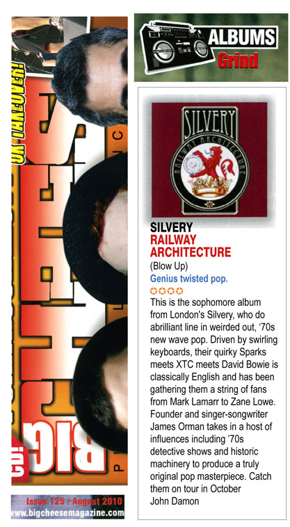 Big Cheese Railway Architecture Album Review Silvery