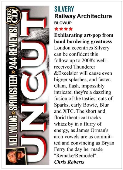 Uncut Railway Architecture Album Review Silvery