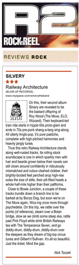 Rock N Reel Railway Architecture Album Review Silvery