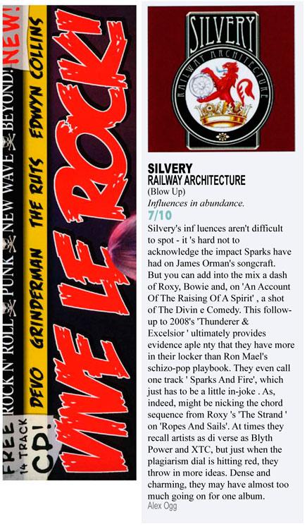 Vive Le Rock Railway Architecture Album Review Silvery