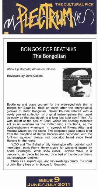 Plectrum Bongos For Beatniks The Bongolian