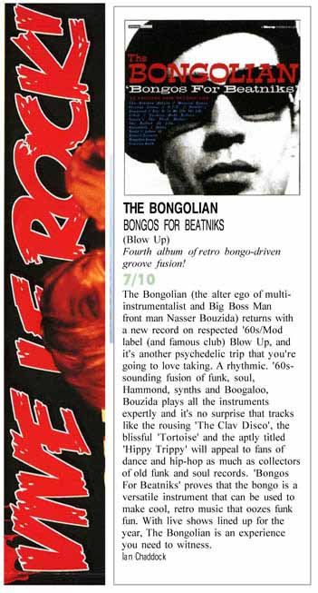 Vive Le Rock The Bongolian Bongos For Beatniks