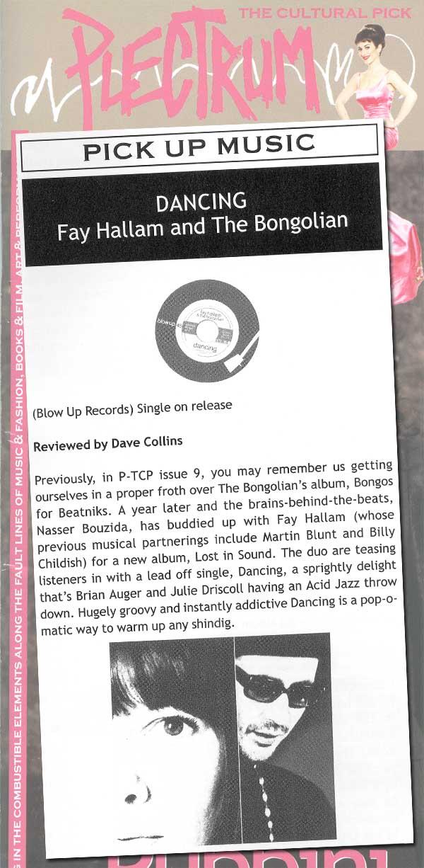 Fay Hallam Bongolian Dancing Plectrum