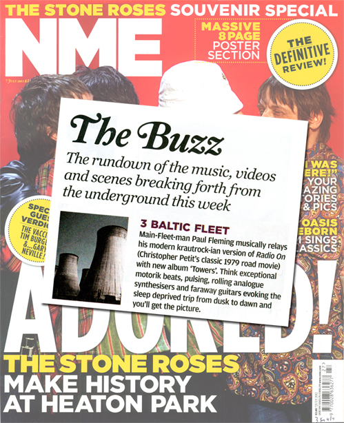 NME Buzz Baltic Fleet Towers