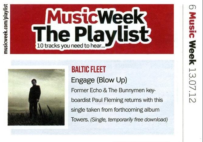 Baltic Fleet Engage Music Week Playlist