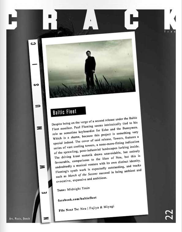 Crack Magazine New Music Baltic Fleet