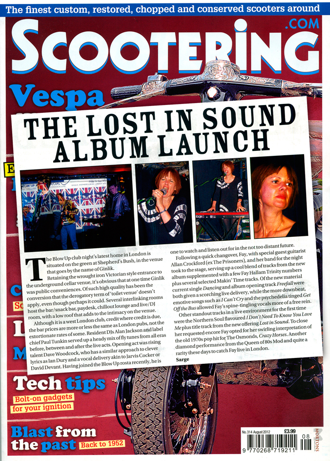 Scootering Lost In Sound Album Launch Review