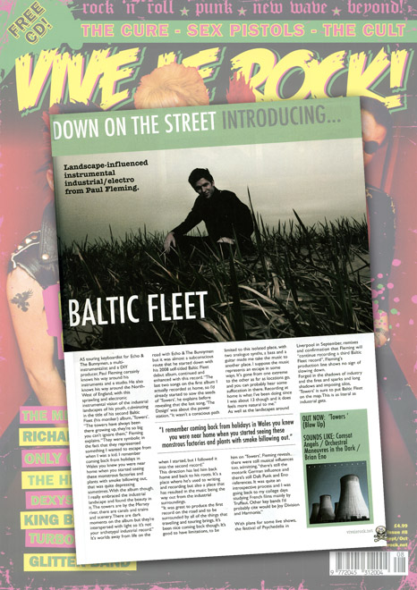 Vive Le Rock Baltic Fleet Feature