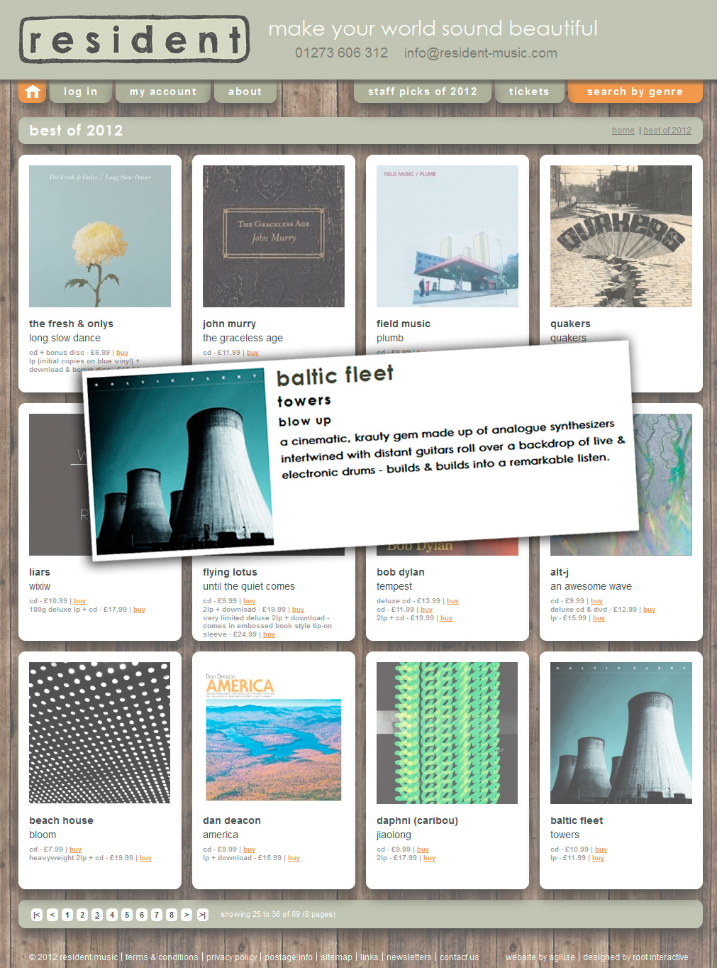 Baltic Fleet 'Towers' Resident Records 'Best of 2012'