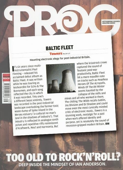 Baltic Fleet 'Towers' PROG Album Reviews
