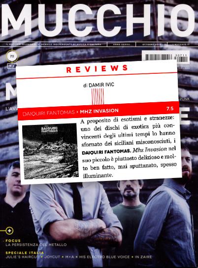 Daiquiri Fantomas 'MHz Invasion' Mucchio Album Reviews