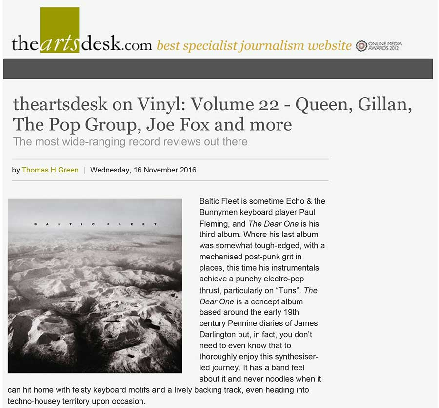 theartsdesk on Vinyl: Volume 22