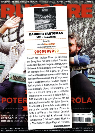Rumore Album Reviews Daiquiri Fantomas 'MHz Invasion'
